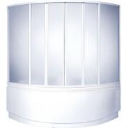 Шторка на ванну Мега BAS, Мега, , 15 635 руб., Мега, Bas, Душевые ограждения и шторки для ванн