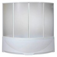 Шторка на ванну Дрова BAS, Дрова, , 15 190 руб., Дрова, Bas, Душевые ограждения и шторки для ванн