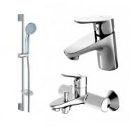 Комплект для ванной комнаты 3 -1 Bravat Drop, 107 мм, F00308C, , 12 597 руб., F00308C, Bravat, Душевые комплекты