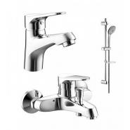 Комплект для ванной комнаты 3 -1 Bravat Eco, F00313С, , 10 157 руб., F00313С, Bravat, Душевые комплекты