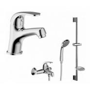 Комплект для ванной комнаты 3 -1 Bravat Fit, F00315C, , 8 835 руб., F00315C, Bravat, Душевые комплекты