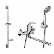 Cмеситель для ванны и душа Bravat Fit, 300 мм, F00416C, , 7 852 руб., F00416C, Bravat, Смесители с длинным изливом