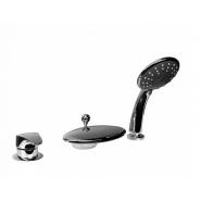 Смеситель для ванны и душа Bravat Niagara, 88 мм,  F5140197CP-RU, , 13 512 руб.,  F5140197CP-RU, Bravat, Смесители на борт ванны