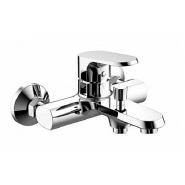 Смеситель для ванны и душа Bravat Pure, 185 мм, F6105161C-01, , 7 826 руб., F6105161C-01, Bravat, Смесители для ванны и душа