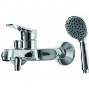 Смеситель для ванны и душа Bravat Eco, 166 мм, F6111147C-B, , 6 799 руб., F6111147C-B, Bravat, Смесители для ванны и душа