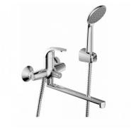Cмеситель для ванны и душа Bravat Fit, 300 мм, F6135188CP-LB-RUS, , 6 929 руб., F6135188CP-LB-RUS, Bravat, Смесители с длинным изливом