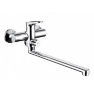Cмеситель для ванны и душа Bravat Eler, 379 мм, F6191238CP-01L-RUS, , 5 356 руб., F6191238CP-01L-RUS, Bravat, Смесители с длинным изливом