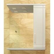 Зеркальный шкаф правый с подсветкой De Rossa Монако 60, 600х730 мм, 00332, , 3 664 руб., 332, De Rossa, Зеркальные шкафы