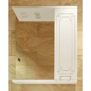 Зеркальный шкаф правый с подсветкой De Rossa Афродита 50, 500х730 мм, 00320, , 3 402 руб., 320, De Rossa, Зеркальные шкафы