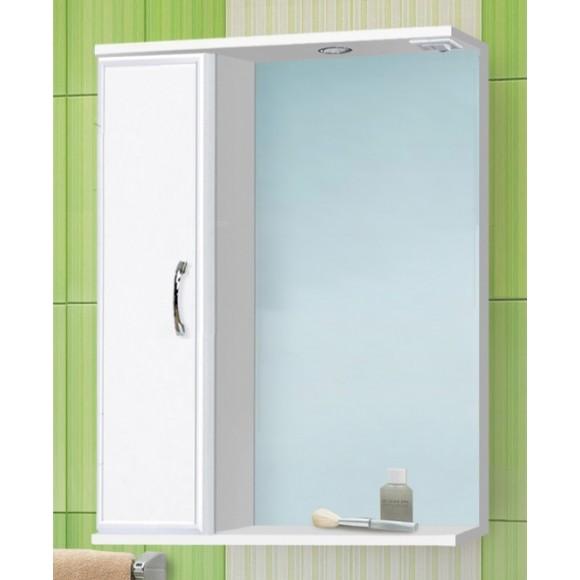 Зеркальный шкаф левый с подсветкой De Rossa Панда, 570х763 мм, 12363