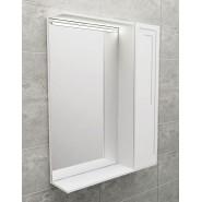 Зеркальный шкаф с подсветкой De Rossa Classic 600, 600х730 мм, DR01501, , 5 370 руб., DR01501, De Rossa, Зеркальные шкафы