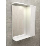 Зеркальный шкаф с подсветкой De Rossa Classic-Style 600, 600х730 мм, DR04501, , 4 131 руб., DR04501, De Rossa, Зеркальные шкафы