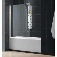 Шторка на ванну распашная Domustar, EF-06-S, , 11 000 руб., EF-06-S, Domustar, Душевые ограждения и шторки для ванн