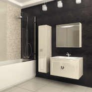 Шкаф Зеркальный Edelform Аллюр 75, , 15 113 руб., Allure, Edelform, Шкафы для ванных комнат