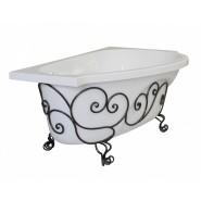 Подставка кованная для ванны правая Estet Грация, ФР-00001238, , 21 375 руб., ФР-00001238, Estet, Комплектующие для ванн