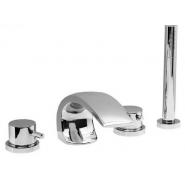 Смеситель для ванны и душа Estet Arco Lux, Arco Lux, , 17 255 руб., Arco Lux, Estet, Смесители на борт ванны
