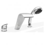 Смеситель для ванны и душа Estet Garda, Garda, , 10 500 руб., Garda, Estet, Смесители на борт ванны