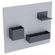 Комплект магнитной доски Geberit Acanto, 500.649.JL.2, , 14 539 руб., 500.649.JL.2, Geberit, Аксессуары для ванной комнаты