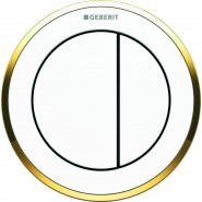 Пневмоклавиша смыва Geberit тип 10, 116.055.KK.1, , 12 447 руб., 116.055.KK.1, Geberit, Инсталляции для унитазов
