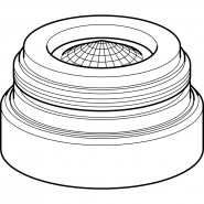 Аэратор для смесителей Geberit, 242.645.21.1, , 1 430 руб., 242.645.21.1, Geberit, Комплектующие для смесителей
