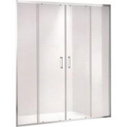 Душевая дверь Gemy Victoria, 150х190 см, S30192A, , 34 725 руб., S30192A, Gemy, Душевые двери