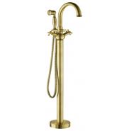 Смеситель напольный для ванны Gemy, 183 мм, G7099, , 40 656 руб., G7099, Gemy, Смесители для ванны и душа