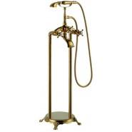 Смеситель напольный для ванны Gemy, 160 мм, G7096, , 31 152 руб., G7096, Gemy, Смесители для ванны и душа