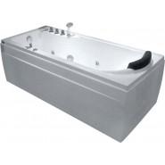 Ванна акриловая гидромассажная Gemy, 172х77 см, G9006-1,7 B