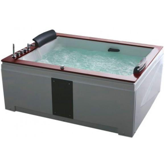 Ванна акриловая гидромассажная Gemy, 186х151 см, G9052-II B
