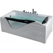 Ванна акриловая гидромассажная Gemy, 181х92 см, G9055 K