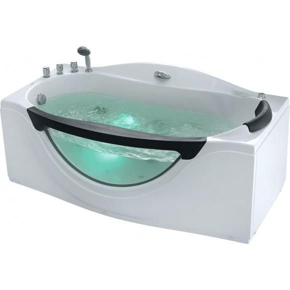 Ванна акриловая гидромассажная Gemy, 171х92 см, G9072 B