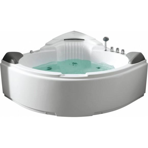 Ванна акриловая гидромассажная Gemy, 152х152 см, G9082 B