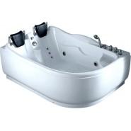 Ванна акриловая гидромассажная Gemy, 180х122 см, G9083B