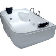Ванна акриловая гидромассажная Gemy, 180х116 см, G9085K