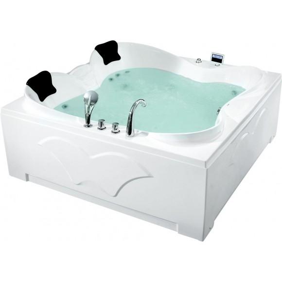 Ванна акриловая гидромассажная Gemy, 187х187 см, G9089 O