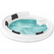 Ванна акриловая гидромассажная Gemy, 190х190 см, G9090 K White