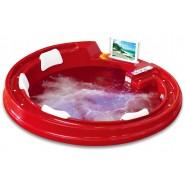 Ванна акриловая гидромассажная Gemy, 190х190 см, G9090 O Red