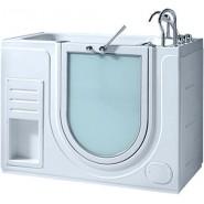 Ванна акриловая Gemy, 130х75 см, GO-05C