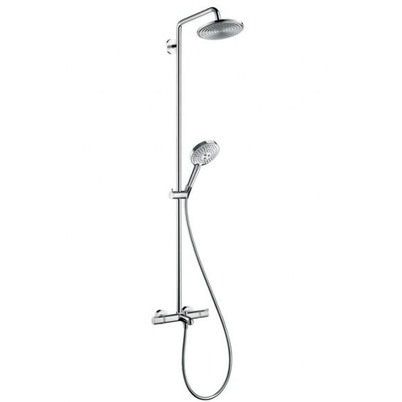 Душевая система Hansgrohe  Raindance Select Showerpipe 240 1jet, 240 мм/1584 мм, 27117000