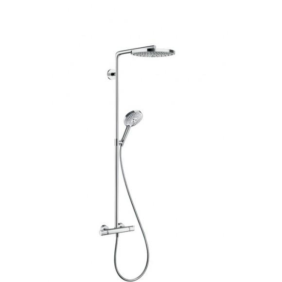 Душевая система Hansgrohe Raindance Select E 240 2jet Showerpipe, 240 мм/1075 мм, 27129000