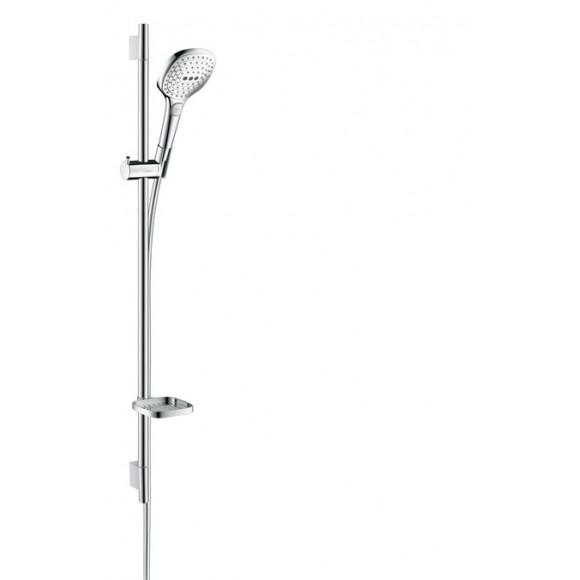 Душевой набор Hansgrohe Raindance Select E 120 EcoSmart 9л/мин, 120 мм/900 мм, 26623000