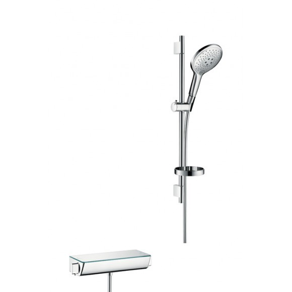 Душевой набор Hansgrohe Ecostat Select/Raindance, ½', 150 мм/650 мм, 27036400