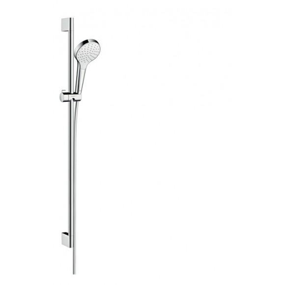Душевой набор Hansgrohe Croma Select S 1jet EcoSmart 9 л/мин 0,90м, 100 мм/900 мм, 26575400