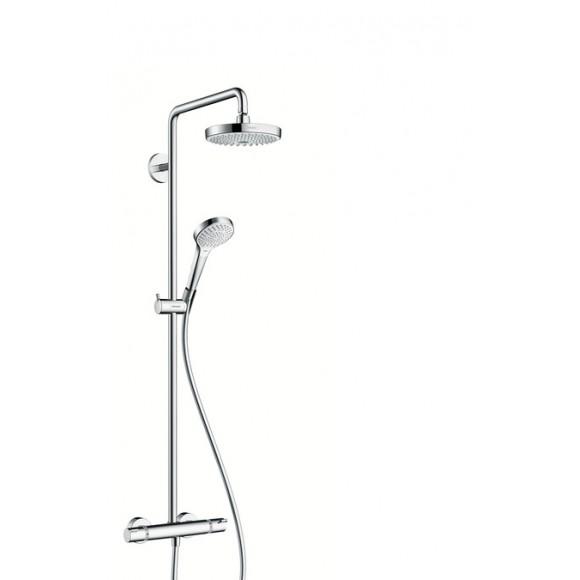 Душевой набор Hansgrohe Croma Select S 180 2jet Showerpipe, 180 мм/1141 мм, 27253400