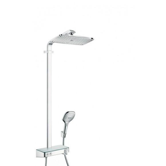 Душевой набор Hansgrohe Raindance Select E 360 1jet ST Showerpipe, 360x190 мм/1100 мм, 27288000
