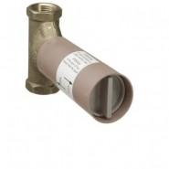 Внутренний механизм запорного вентиля 3/4 дюйма, резиновая прокладка Ecostat Hansgrohe, 15970180