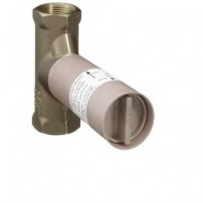 Внутренний механизм запорного вентиля 1/2 дюйма Ecostat Hansgrohe, 15974180, , 7 920 руб., 15974180, Hansgrohe, Комплектующие для смесителей
