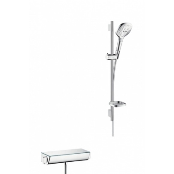 Душевой гарнитур с термостатом Hansgrohe Ecostat Select Combi Raindance Select E, 120 мм/700 мм, 27038000