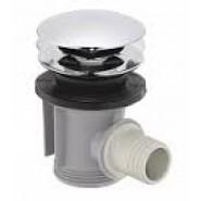 Сливной набор для ванны Push-Open Hansgrohe, 50107000, , 5 130 руб., 50107000, Hansgrohe, Комплектующие для смесителей