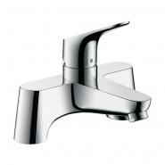 Смеситель для ванны на 2 отверстия Hansgrohe Focus, 141 мм, 31523000
